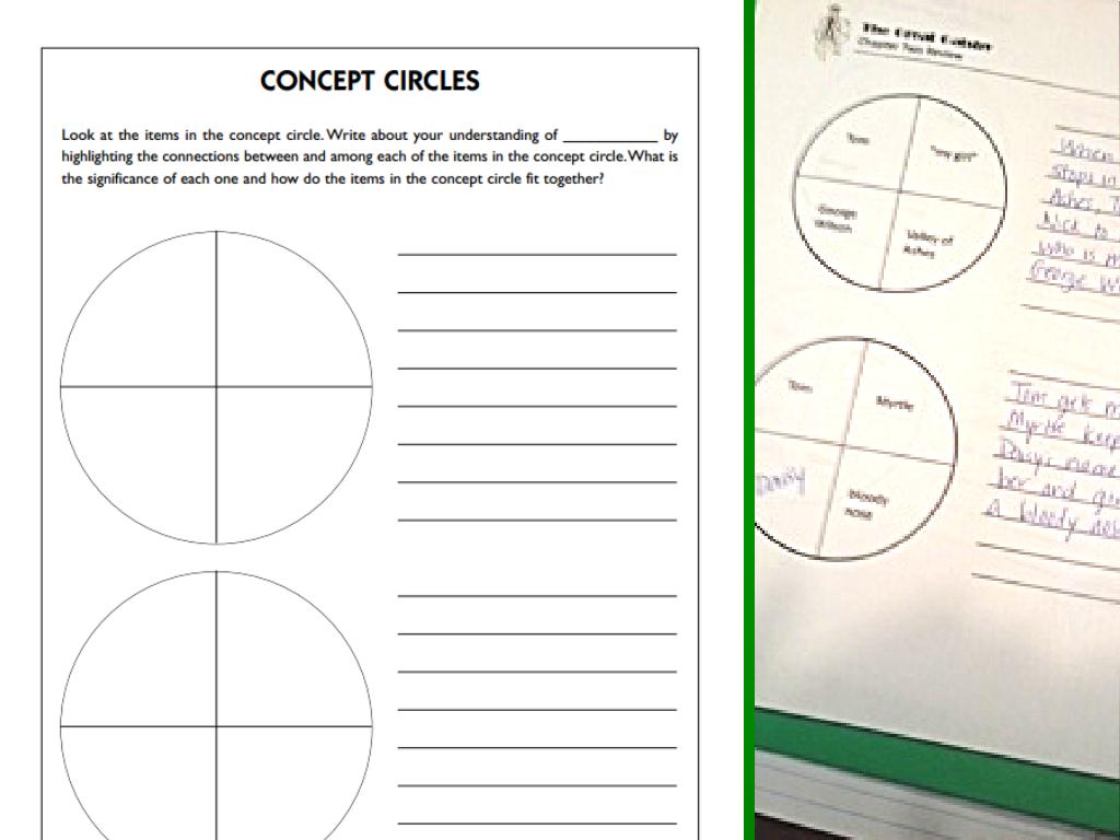 worksheet Circle Vocabulary Worksheet concept circles a bright julie conlon circles