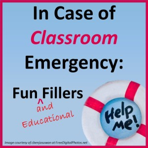 Fun and Educational Time Fillers for Secondary Classrooms